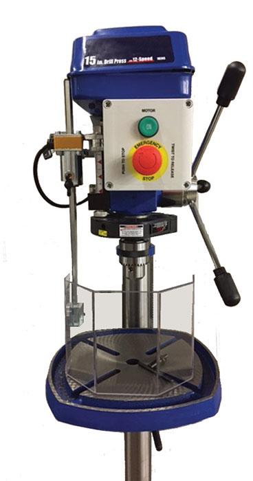 Drill Press Guard >> 4 Machine Safeguarding Myths Debunked