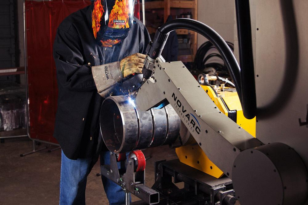 A novel approach to pipe welding automation