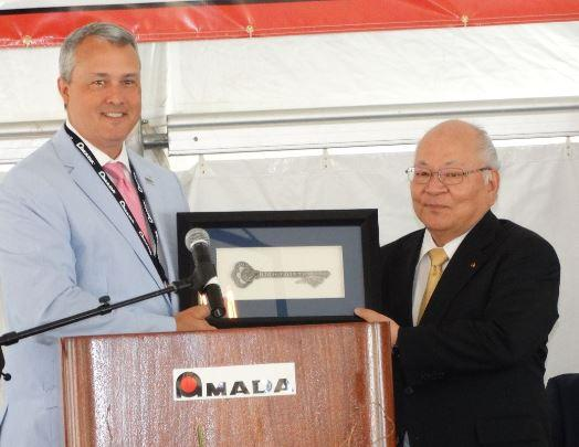 Amada breaks ground in North Carolina