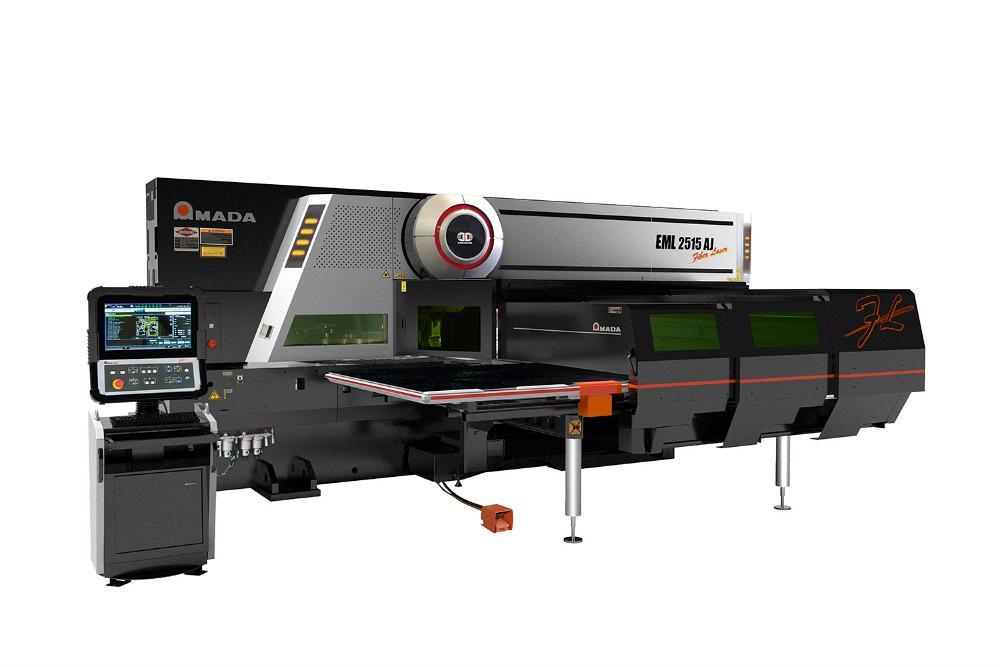 Amada EML 2515 AJ punch/laser machine suitable for high