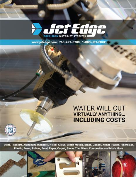 Brochure highlights precision waterjet cutting systems