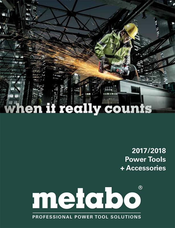 Catalog highlights power tools and accessories