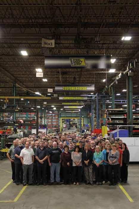 Steel Craft employees