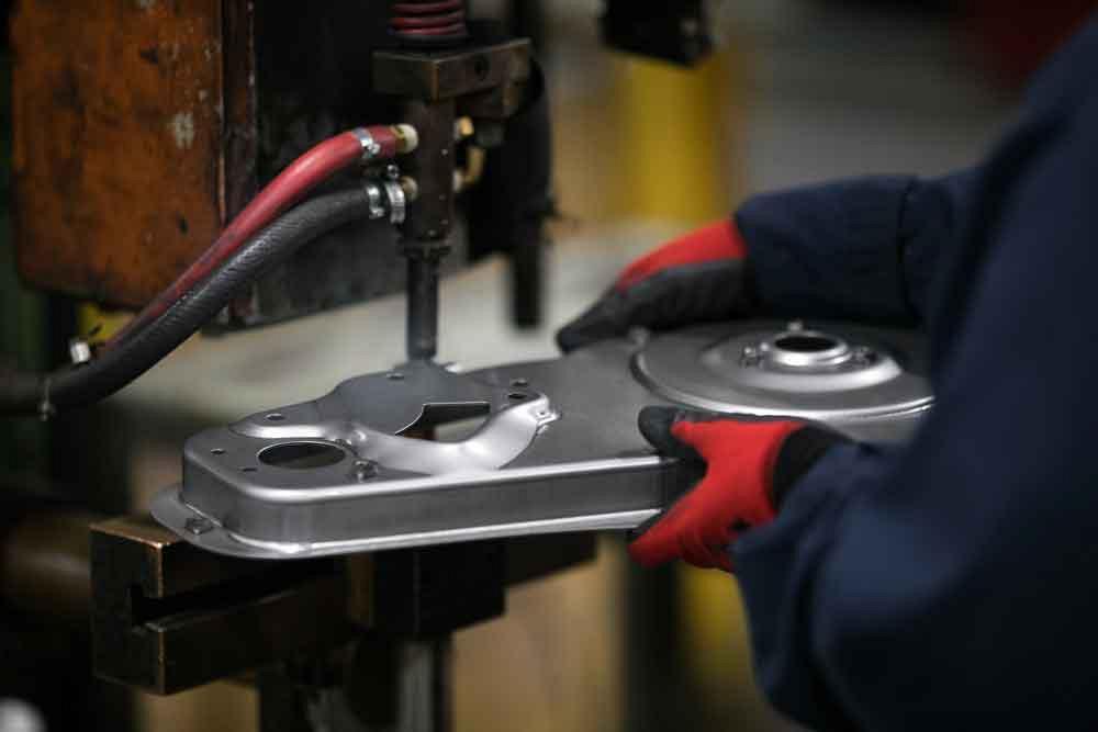Hardware insertion in sheet metal