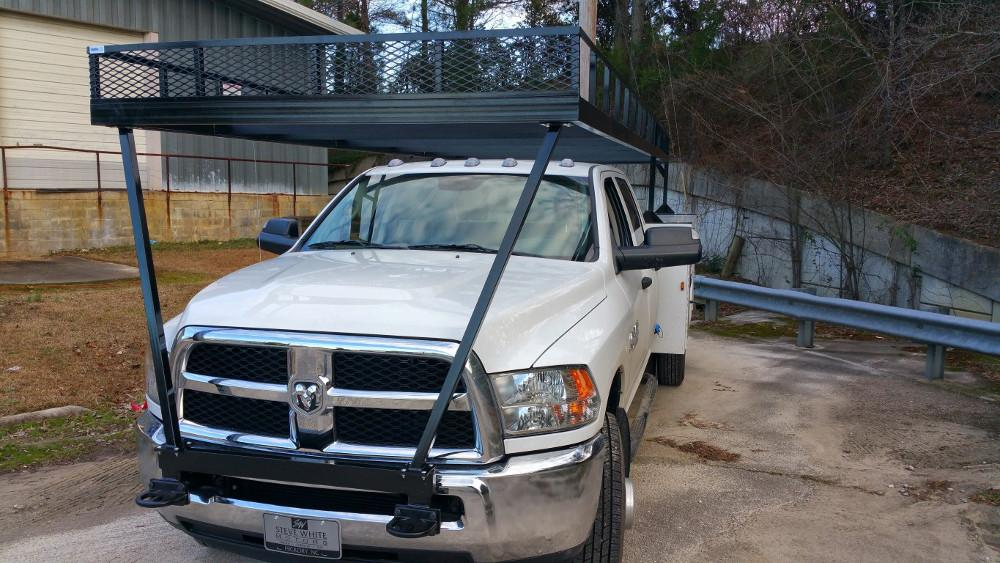 Truck Pipe Rack >> Fabricating And Mounting A Quick Quote Heavy Duty Utility Truck Rack