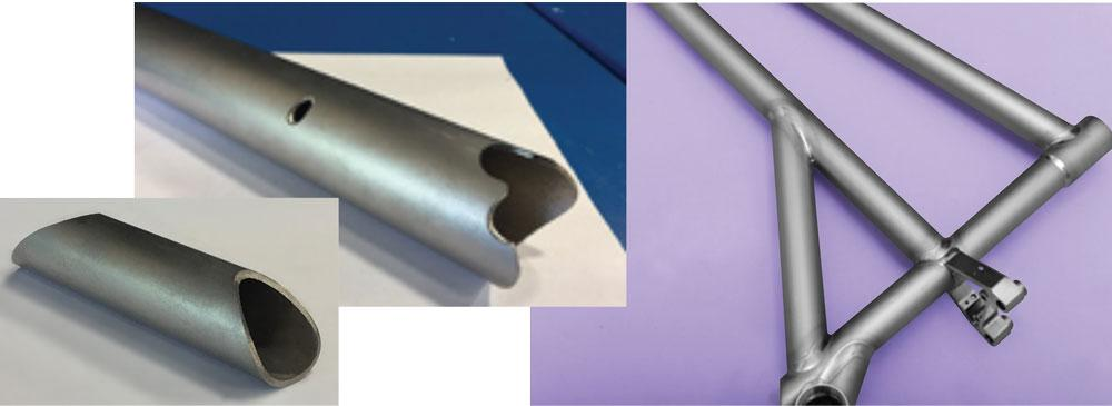 Folding bicycle manufacturer uses laser cutting for titanium