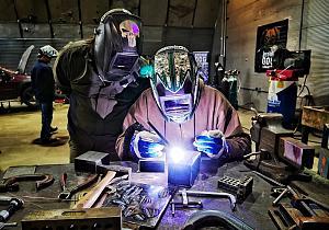 Welder and welding instructor