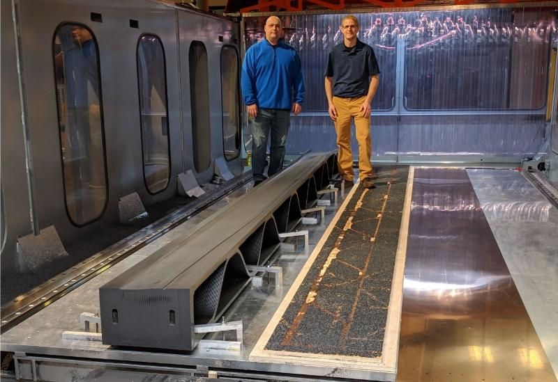 Hybrid Additive Subtractive Manufacturing Machine Produces