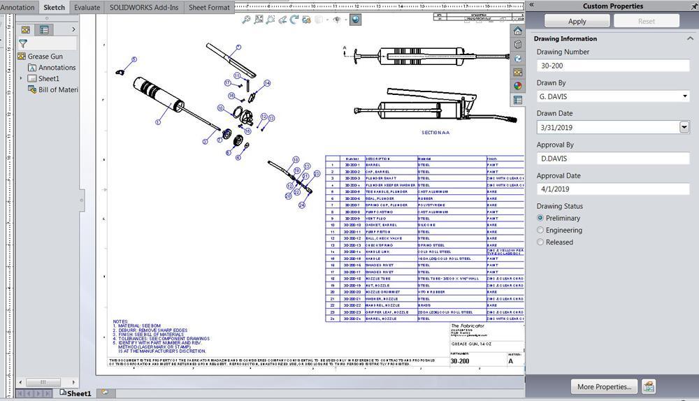 Intelligent handling of product manufacturing information during design
