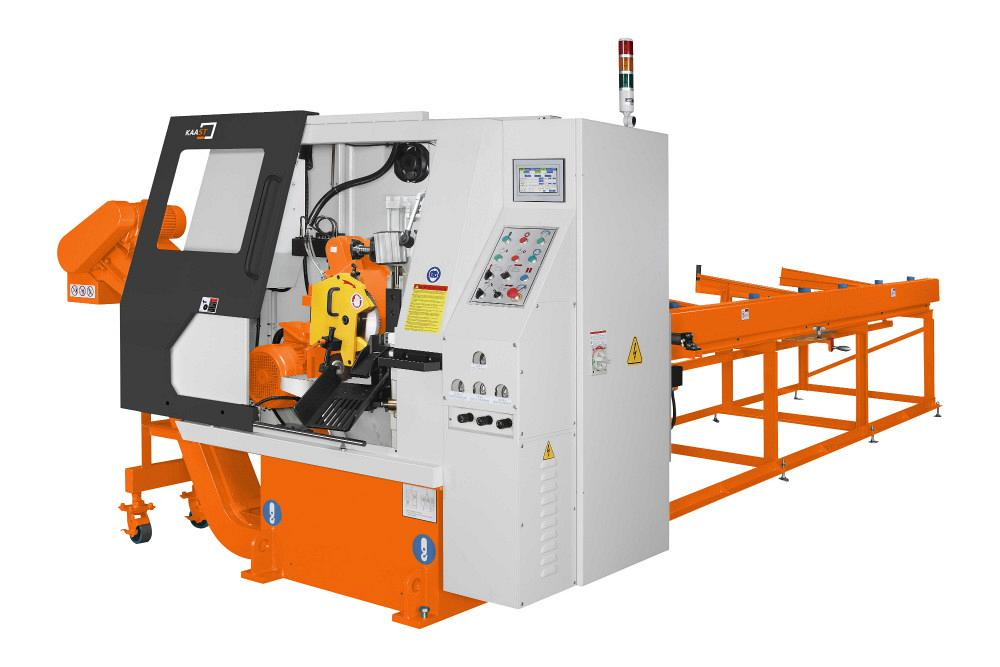 Kaast Machine Tools' HCS cold saw is fully automatic