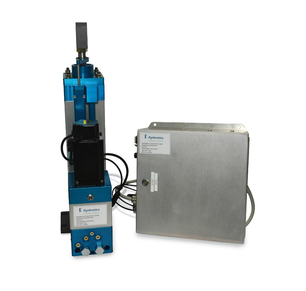 Kyntronics' Smart Hydraulic Actuator system delivers power