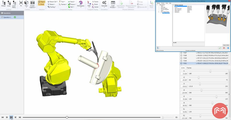 Offline weld robot programming evolves