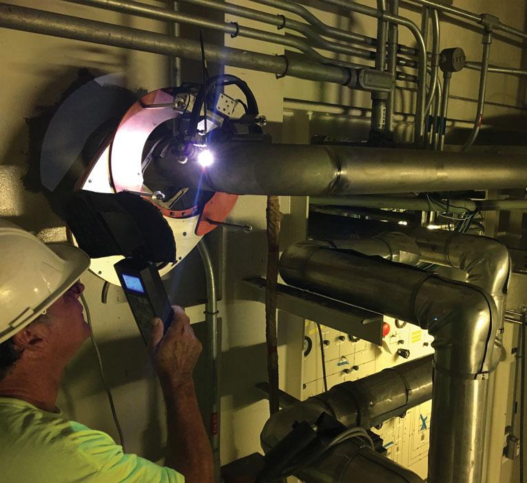 Orbital Welding Unit Helps Build Mission Critical Piping Systems For Rocket Launch Tower