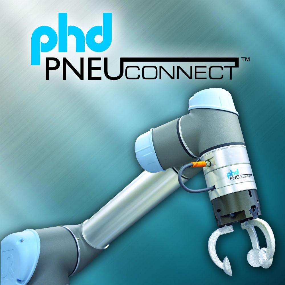 PHD's Pneu-Connect integrates grippers withUniversal Robot