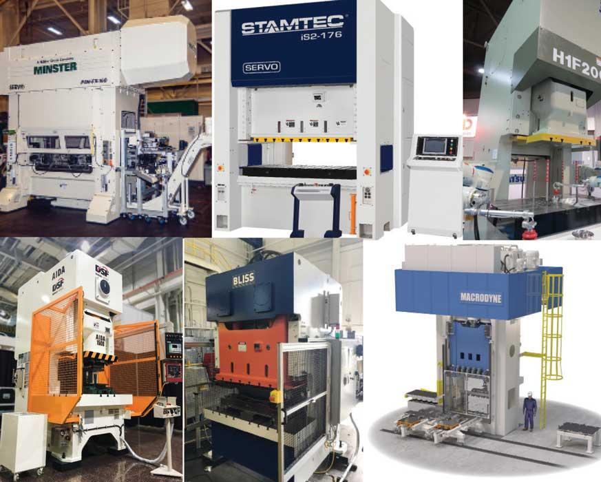 Presses At The Center Of All Stamping Technology Will Be Alive And Kicking Fabtech 2017 In Transportation Mecca Chicago