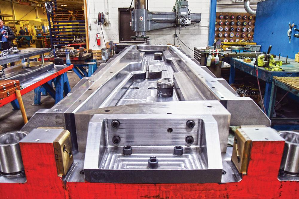 Presses help form new future, fortune, for tool- and diemaker
