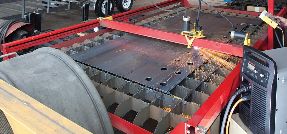 Putting together a plasma cutting system