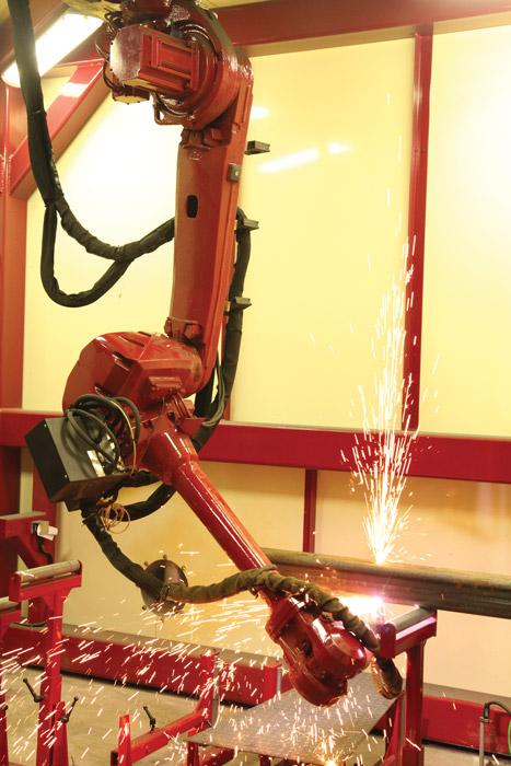 Robotic plasma cutting gets flexible