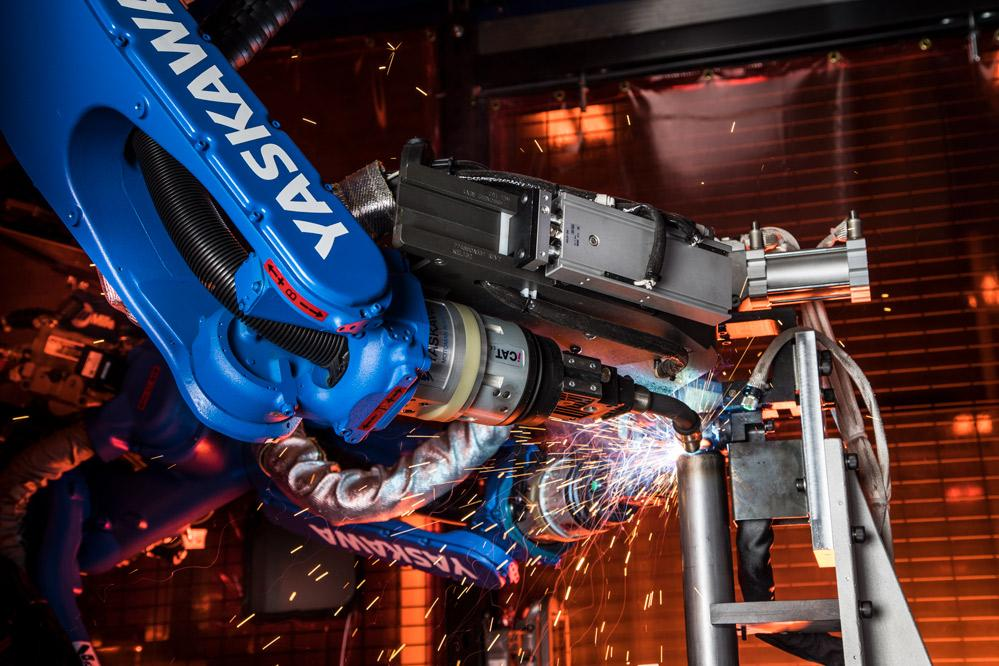 Robotic welding system helps chassis supplier exceed OEM
