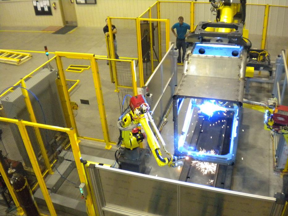 Robots emerge as an alternative to the traditional welding