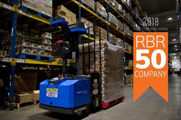 Seegrid named a Top Robotics Company in 2018