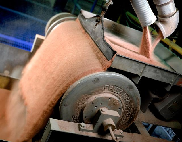 Selecting the right waterjet abrasive