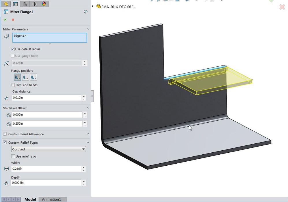 Shop technology and 3-D CAD: Sheet metal modeling