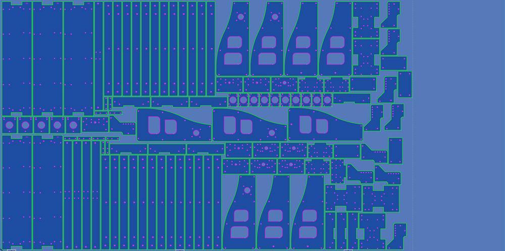 SigmaNEST X1 4 CAD/CAM nesting software from SigmaTEK