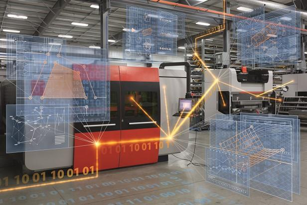 Software Guides Sheet Metal On Best Path Through Production Process
