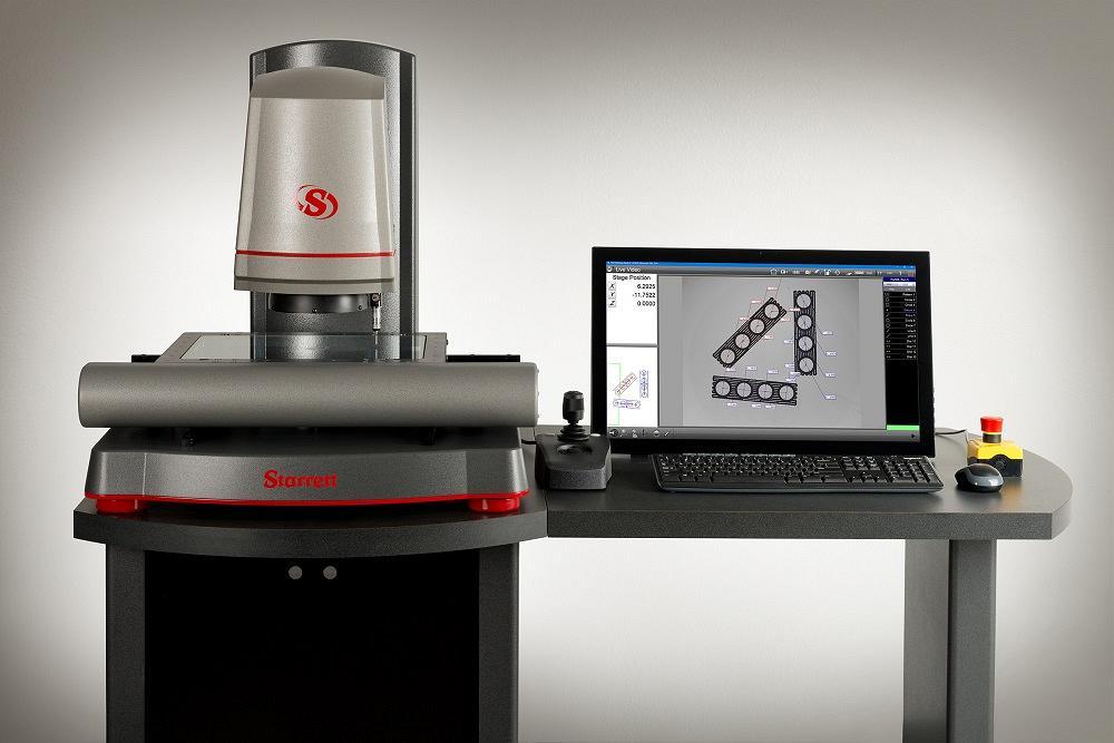 Starrett's AVR-FOV 0.14X multisensor vision system offers ...