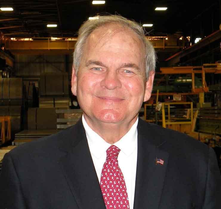 Bill Hickey, chairman, Lapham-Hickey Steel Corp.