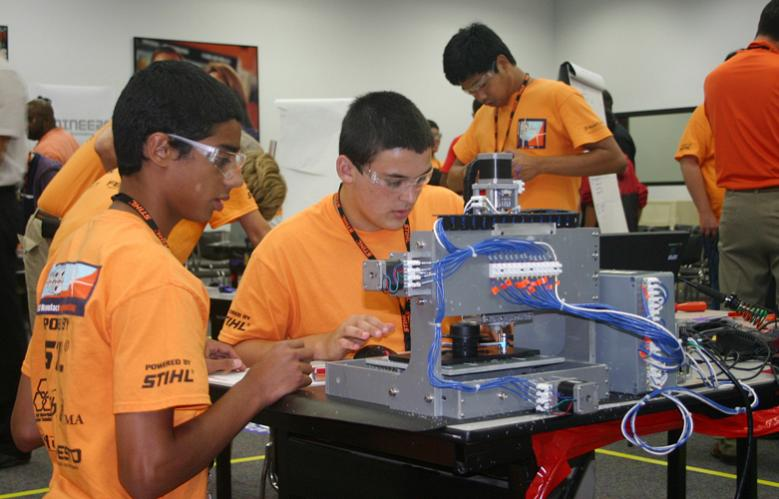 STIHL Inc  camp inspires youth to pursue manufacturing careers