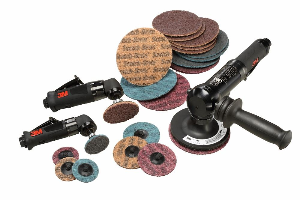 Surface-conditioning discs handle aluminum, soft metal surfaces