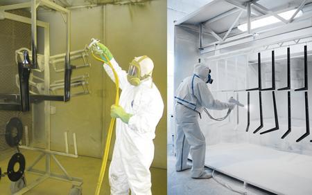The basics of liquid and powder coatings