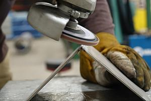 Finishing stainless steel