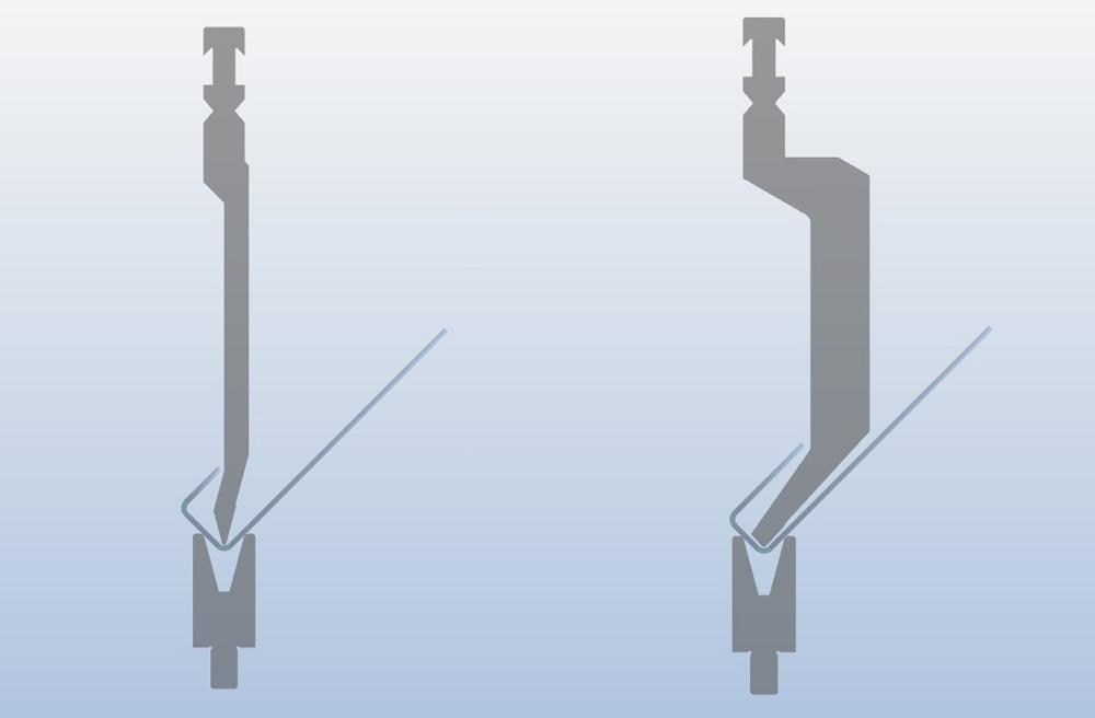 The rules of press brake tool selection