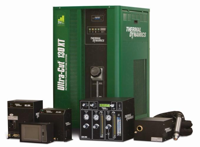 Ultra-Cut 130 XT high-precision plasma power source and new 130-amp XT torch and consumables
