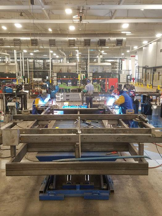 U-Haul ramps up metal fabrication