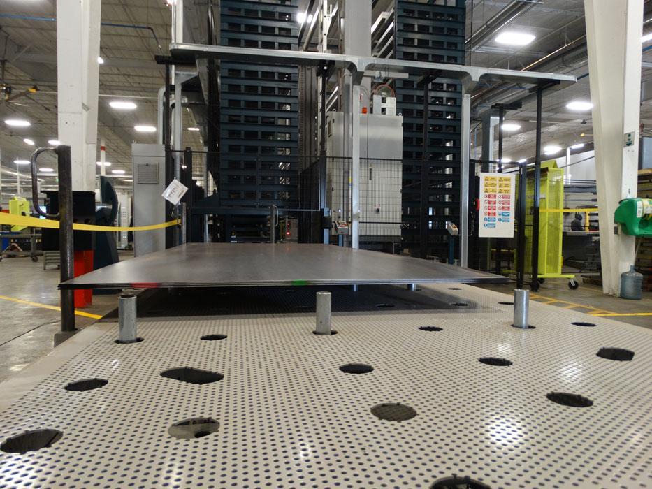Aluminum Folding Ramps >> U-Haul ramps up metal fabrication