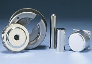 Stamped stainless steel parts