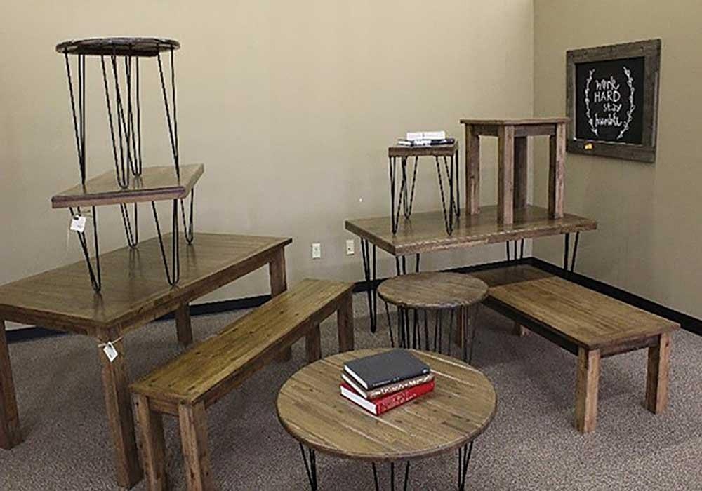 Vets Rely On Plasma Cutting For Art And Furniture Venture