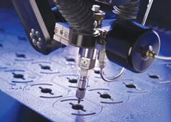 Waterjet makes it into the mainstream