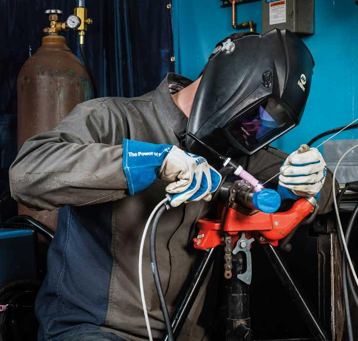 Welding stainless steel right