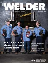 The WELDER Cover