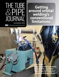 The Tube & Pipe Journal Cover